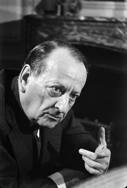 French minister Andre Malraux vowed to fight alongside the Mukti Bahini in the Liberation War. Andre Malraux, Pic, 22.jpg