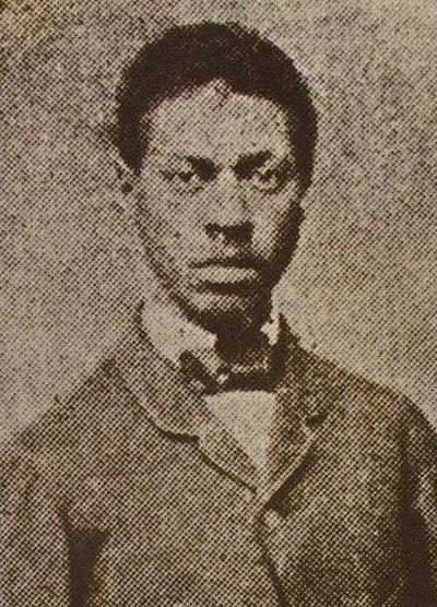 O jovem André Rebouças (c. 1862)