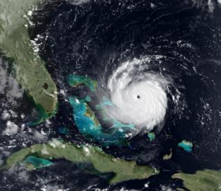 Hurricane Andrew Category 5 Atlantic hurricane in 1992