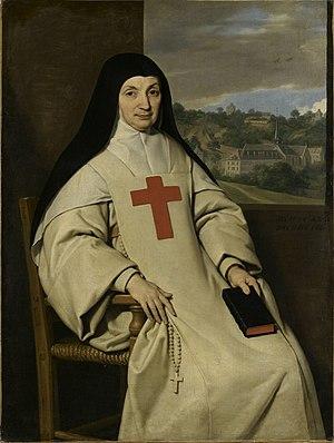 Jansenism - La mère – Marie Angélique Arnauld (1591–1661), abbess of Port-Royal-des-Champs.
