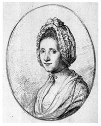 Angelica Kauffman self portrait in a bonnet, chalk, 1762-66.jpg