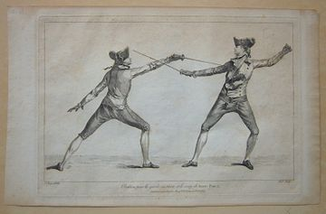 History Of Fencing Wikipedia