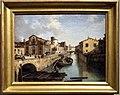 Angelo inganni, veduta del naviglio e della chiesa di san marco in milano, 1835.JPG