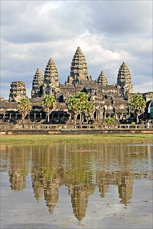 Greater India - Angkor Wat in Cambodia is the largest Hindu temple in the world