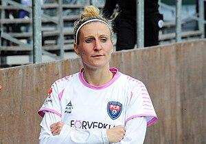 Anja Mittag - Mittag with Rosengård in 2014