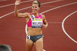 Anna WILLARD 1500m winner - Crystal Palace Grand Prix 2009.jpg