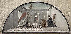 Bartolomeo della Gatta - 'The Annunciation' by Bartolomeo della Gatta
