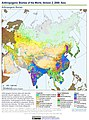 Anthropogenic Biomes of the World, Version 2, 2000 Asia (13603964153).jpg