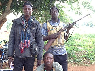 Central African Republic Civil War (2012–2014) - Militia groups called Antibalaka formed to fight against Seleka and its succeeding rebel militias.
