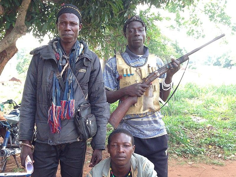 Anti-Balaka militiamen