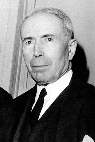 Antoine Pinay - Antoine Pinay in 1969