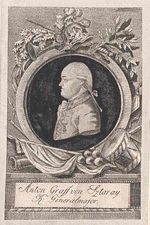 Anton Sztáray Austrian general