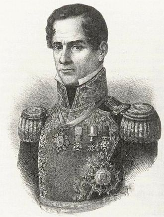 Second Federal Republic of Mexico - General Antonio Lopez de Santa Anna