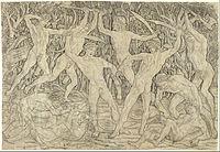 Antonio del Pollaiolo - Battle of the Nudes - Google Art Project.jpg