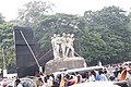 Aparajeyo Bangla statue, University of Dhaka, Bangladesh (16).jpg