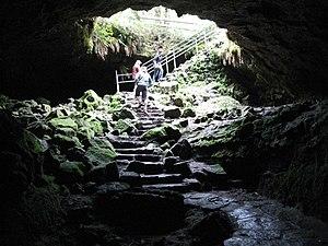 Ape Cave - Ape Cave entrance