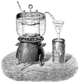Apparatus for determining the vapour density by Dumas' method.png