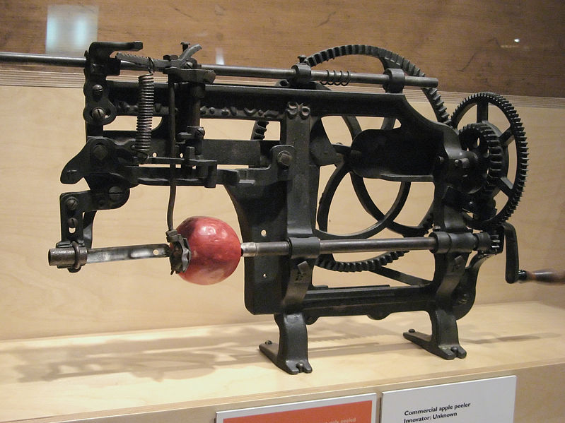 File:Apple peeler at Canada Science and Technology Museum.jpg
