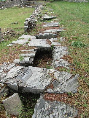 Salona - Aqueduct of Salona