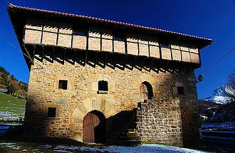 Tower house - Aranguren tower house (Orozko, Biscay)