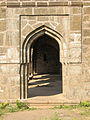 Arches near main gate, Naldurg fort.jpg