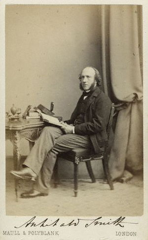 Archibald Smith - Carte de visite depicting Archibald Smith, 1860s.