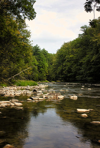 Armagh Township, Mifflin County, Pennsylvania - Penns Creek in Armagh Township