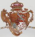 Armas de José Pamplona Carneiro Rangel Baldaia de Tovar - Porcelana do Reinado Qianlong (1736-1795).png