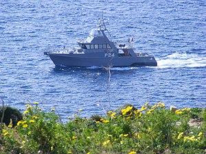 Austal - Maltese patrol boat P24