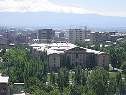 The Armenian National Assembly sits in the National Assembly Building in Yerevan