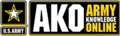Army Knowledge Online (AKO) logo.png