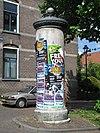 arnhem - reclamezuil oranjestraat - 2