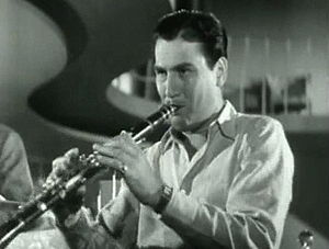 "Artie Shaw performing his ""Concerto for Clarinet"" in 1940"