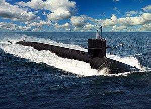 Columbia-class submarine - Wikipedia