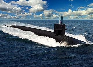 <i>Columbia</i>-class submarine US Navy nuclear ballistic missile submarine class