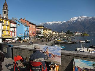 Ascona Place in Ticino, Switzerland