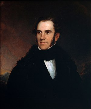 The Course of Empire (paintings) - Portrait of Thomas Cole by Asher B. Durand, 1837.