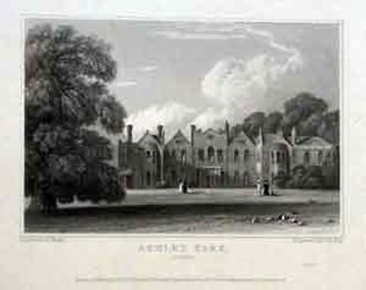 Walton-on-Thames - Ashley Park House or Manor House (demolished)