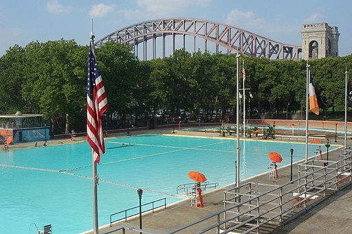 Astoria Park pool, Queens NYC