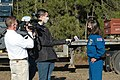 Astronaut Tracy Caldwell Dyson speaks with media representatives prior to the SLS Green Run Test 01.jpg
