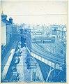 Atlantic Avenue Elevated train approaching Tower D, September 1901.jpg