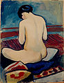 August Macke - Sitting Nude with Pillow - Google Art Project.jpg