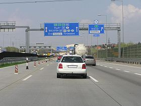 Image illustrative de l'article Autoroute M0 (Hongrie)