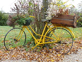 Autry-Issards decorated bicycle