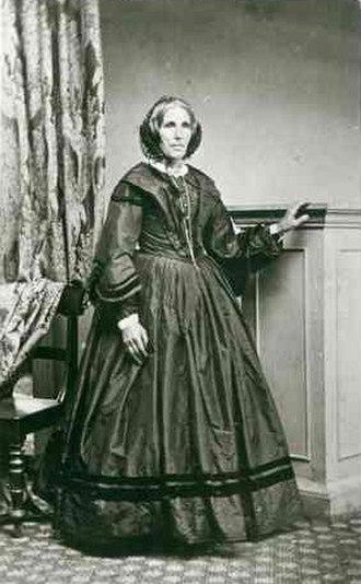 Christina Smith (missionary) - Christina Smith (ca. 1865)