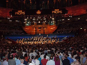 English: BBC Proms at the Royal Albert Hall Pr...