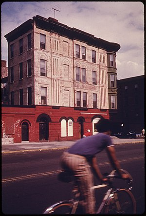 Vanderbilt Avenue - Brooklyn's Vanderblit Avenue in 1974.