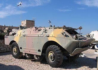 BRDM-2 - BRDM-2UM in Yad La-Shiryon Museum, Israel, 2005.