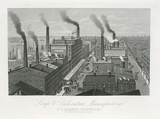 Benjamin T. Babbitt - Babbitt's Soap and Saleratus Manufacturing