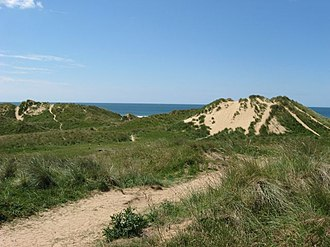 Freshwater West - Sand dune hills